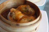 Steamed Star Garoupa Dumplings with Morel Mushrooms
