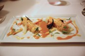 Chilled Scottish Langoustines, mango dressing
