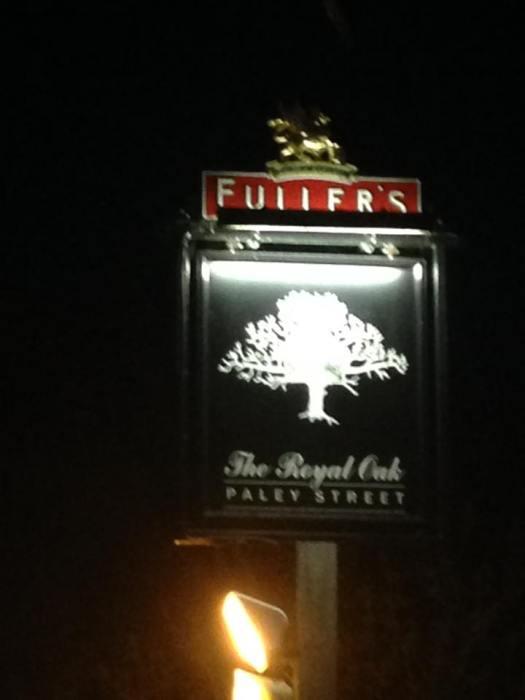 Royal Oak Signage