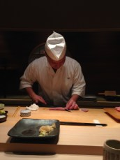 Slicing some Chu-toro
