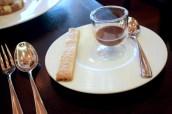 Chocolate & Earl Grey Ganache, Caraway Shortbread