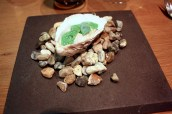Poached Oyster, Sorrel Granita