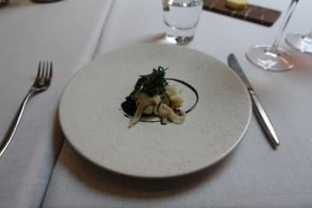 "Squid ""Linguini"", Parsley, Buckwheat"