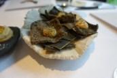 Seaweed Cracker, Smoked Mussel Cream