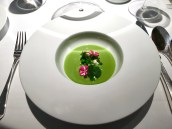 Chilled New Season Pea & Mint Veloute
