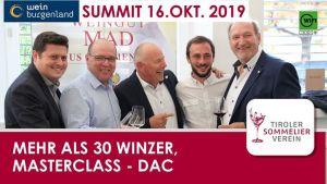 Burgenland Summit 2019 @ TSOV - Tiroler Sommelierverein | Innsbruck | Austria