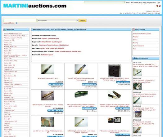 Startseite www.martiniauctions.com