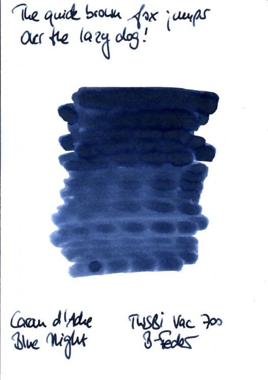 Caran dache blue night TK_RS