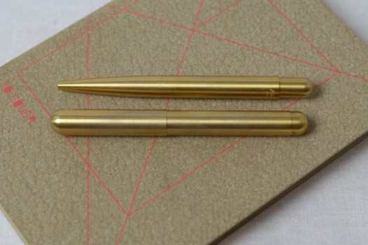 Kaweco Liliput messing Design mit Kulli