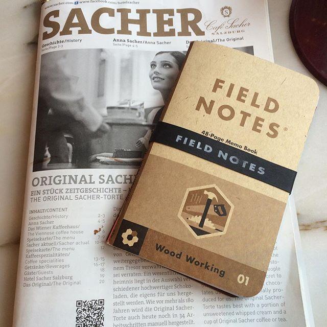 #fieldnotes #salzburg #sacher #liveisgood @genussgeeks