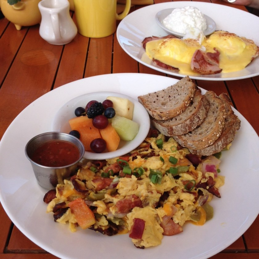 The Beachcomber breakfast