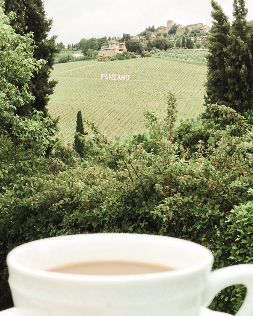 Panzano - coffee time - genussgeeks