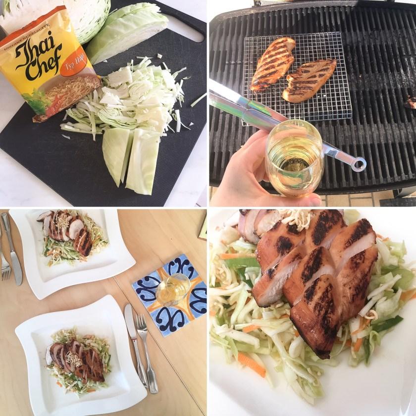 Chinese Chicken Salad Rezept Recipe genussgeeks