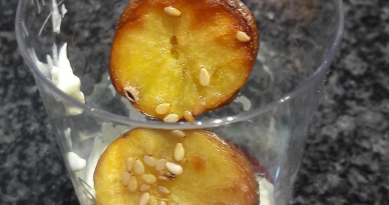 Sesam-Kartoffeln mit Dip