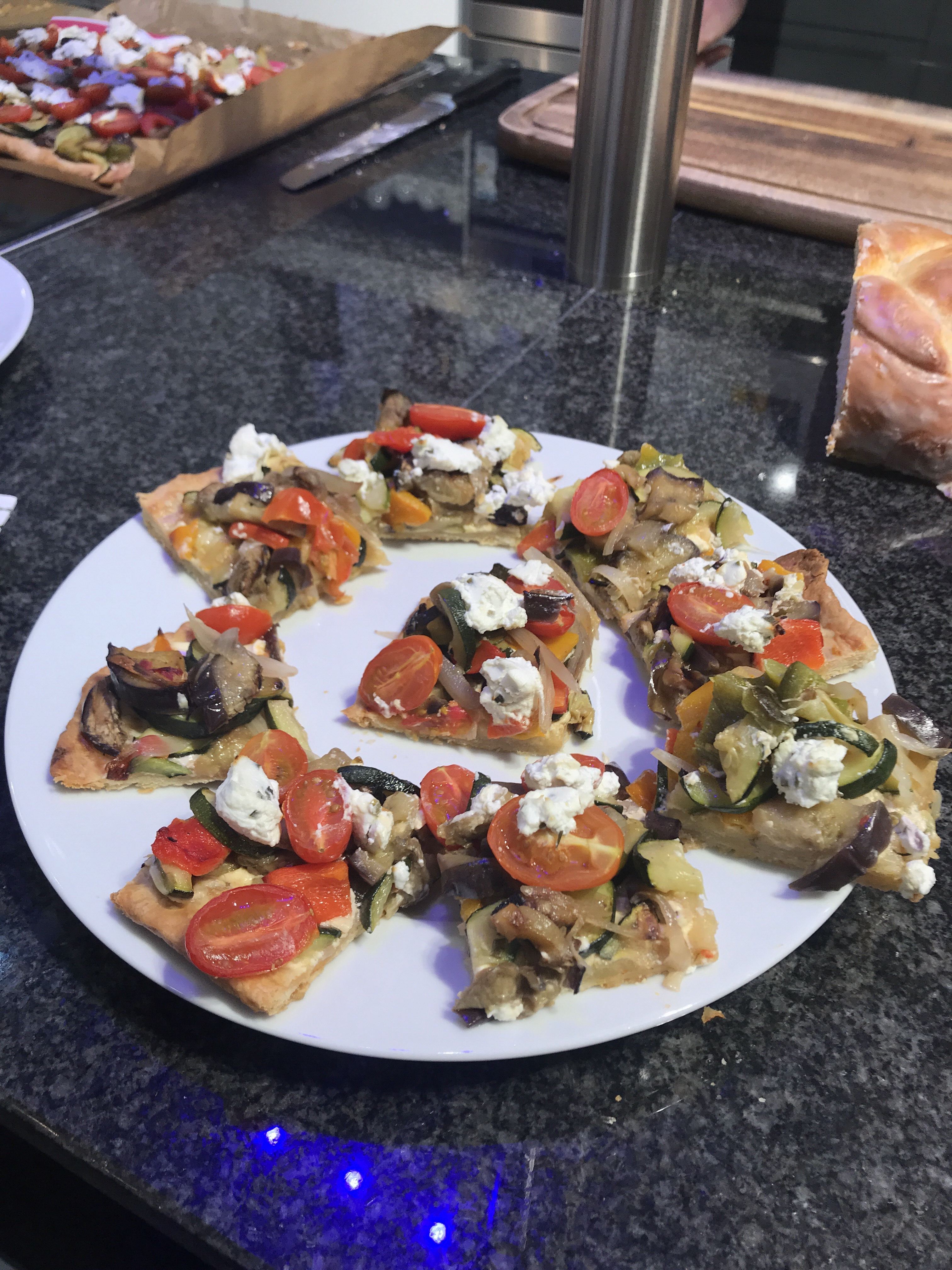 Ratatouille Tarte