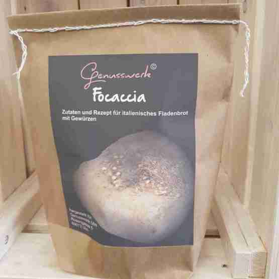 Genusswerk Brot focaccia