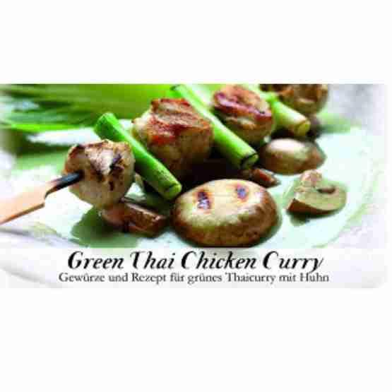 Genusswerk Feuer & Glas Gewürze green thai chicken curry