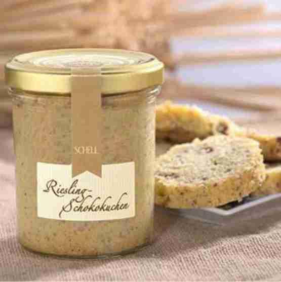Genusswerk Schell Riesling Schokoladenkuchen