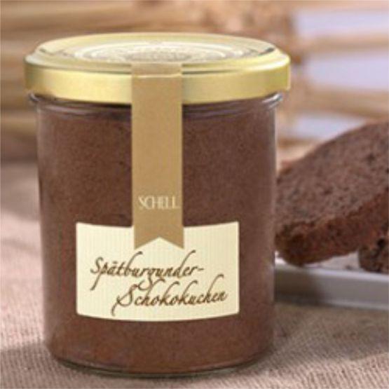 Genusswerk Schell Spätburgunder Schokokuchen