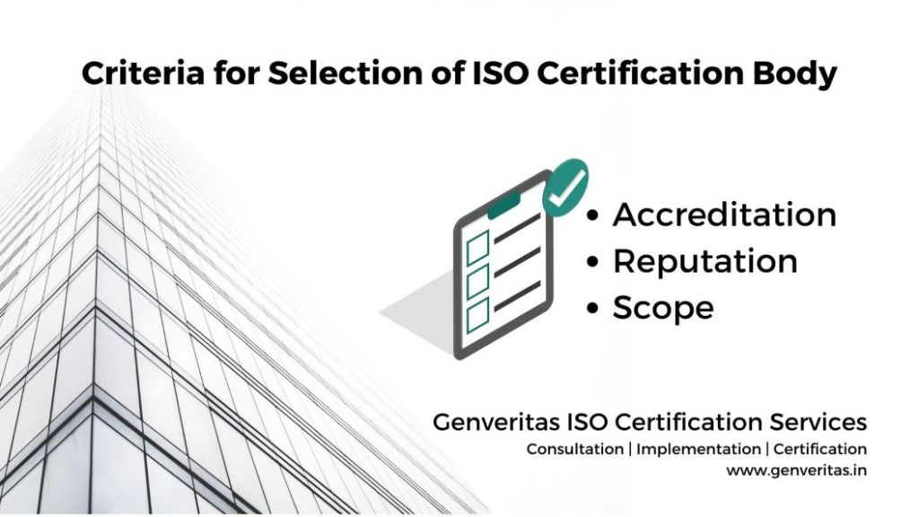 ISO Certification Body