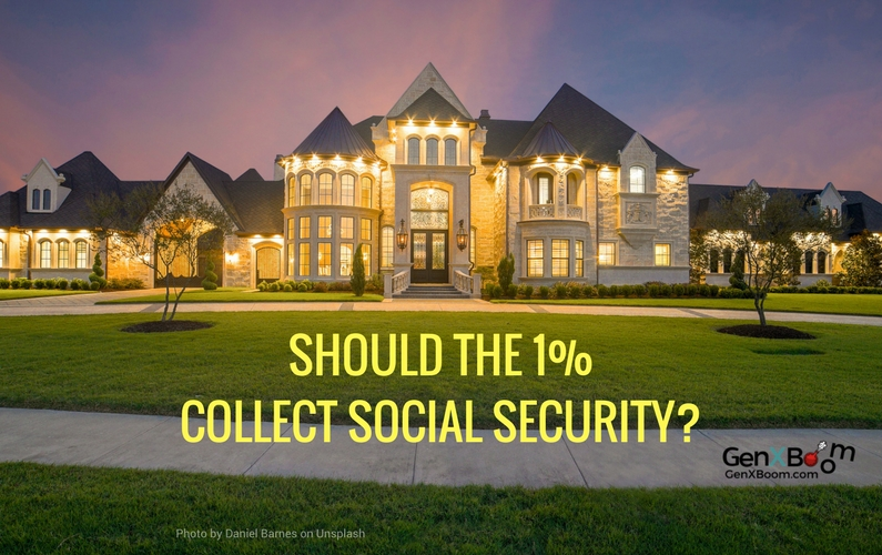 Should the 1% collect Social Security?