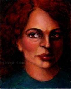 acrylic-portait-redhead-femail
