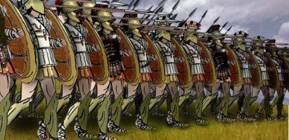 Photo of Greek Phalanx