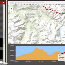 Patrouilles des Glaciers: Track Replay