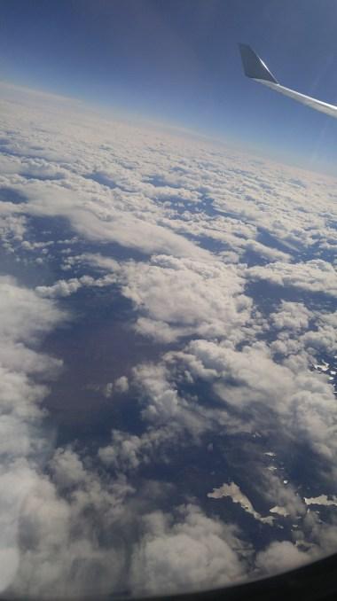 Cruising over Atlantic