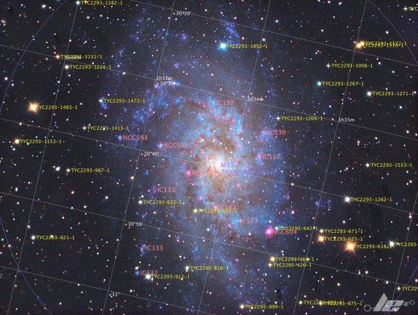 Triangulum Galaxy | GeoAstro
