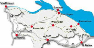 Weinfelden: Zentrale Lage