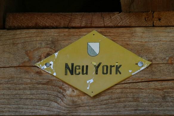 Wanderweg nach Neu York