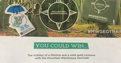 Mountain Warehouse Geocaching Geotrail