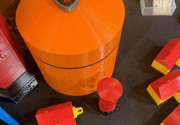 Large Orange Nano!