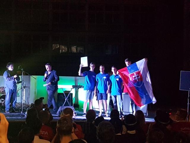 Filip Prášil, Michal Vitkovič, Ján Maťufka, Pavol Draganovský na 3. mieste, foto: Ladislav Tolmáči
