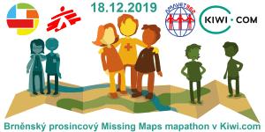 Registrácia na brnenský decembrový Missing Maps mapathon v Kiwi.com