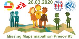 Registrácia na 5. prešovský Missing Maps mapathon