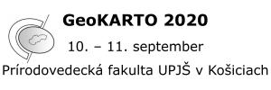Mediálne podporujeme medzinárodnú vedeckú konferenciu GeoKARTO 2020