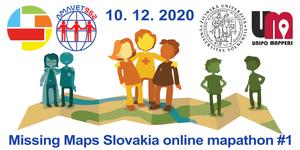 Registrácia na Missing Maps Slovakia online mapathon #1