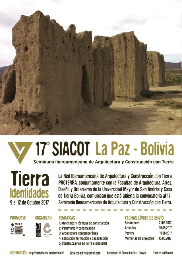 Afiche 17° Siacot