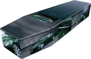 Sports Car Coffin
