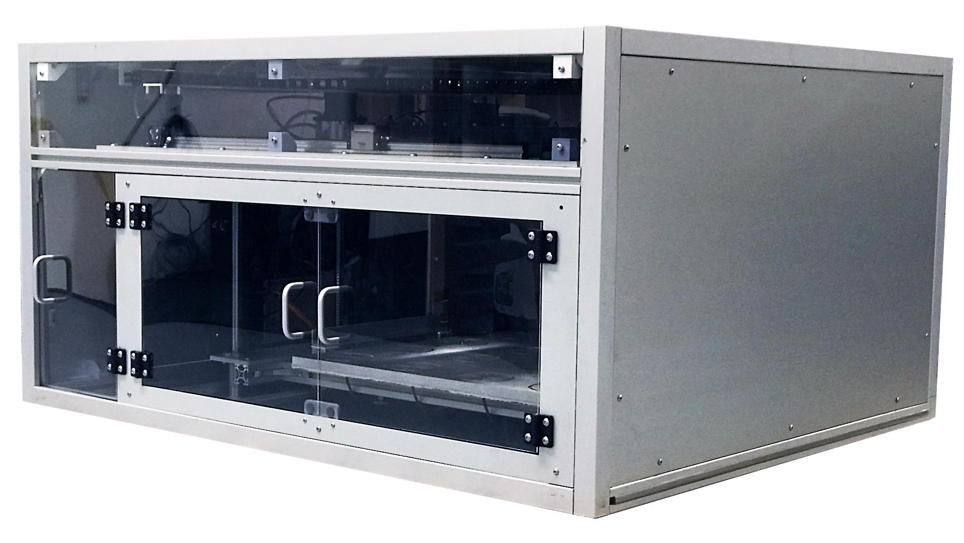 isolated geofabrica 3d printer