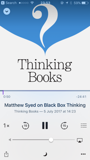 Thinking Books podcast