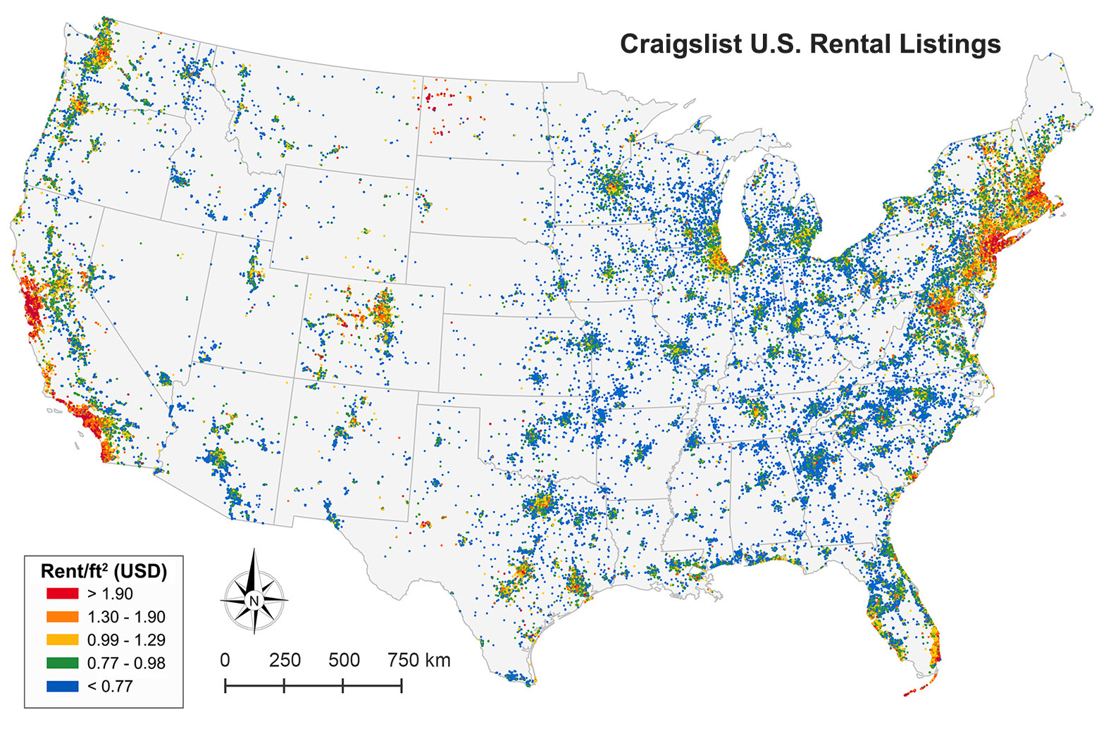 Craigslist and U S  Rental Housing Markets - Geoff Boeing