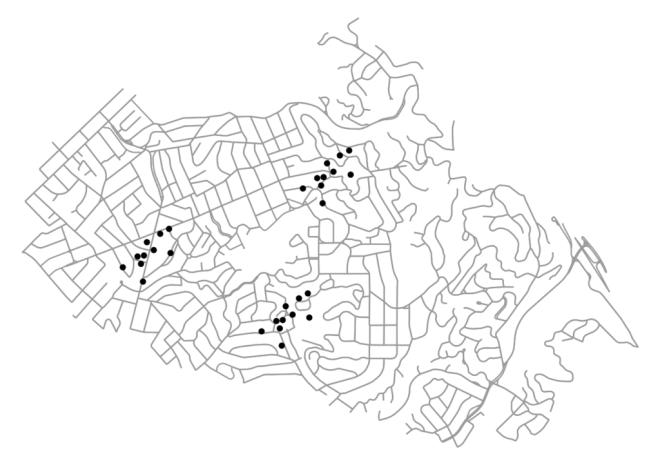 Network-Based Spatial Clustering - Geoff Boeing