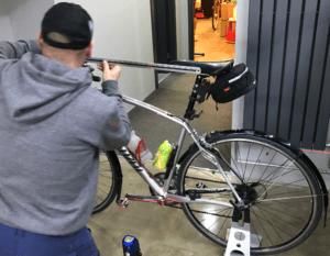 Measuring a bike
