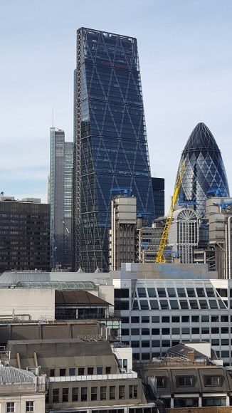 The Cheesegrater and the Gherkin