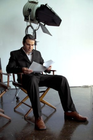 Actor with Script