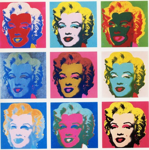 Andy Warhol saw Marilyn Monroe in many different ways...