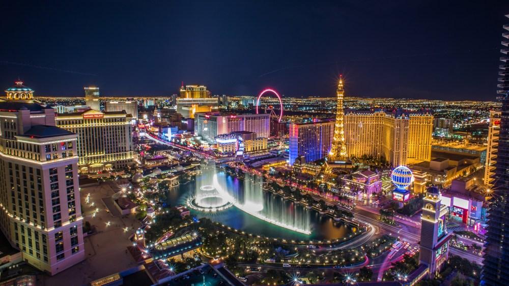 Las Vegas Strip at Night for Google+ 2